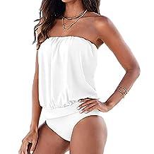 Changeshopping Women Hot Sexy attractive One-piece Strapless Bikini Swimwear