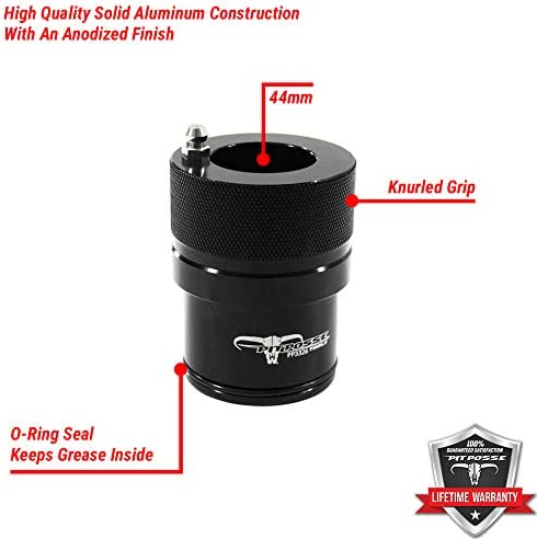 Save Time And Money 40mm Easy And Fast Mess Free No Axle Removal Pit Posse Wheel Bearing Grease Hand Tool for Polaris Ranger Sportsman and RZR 800 models