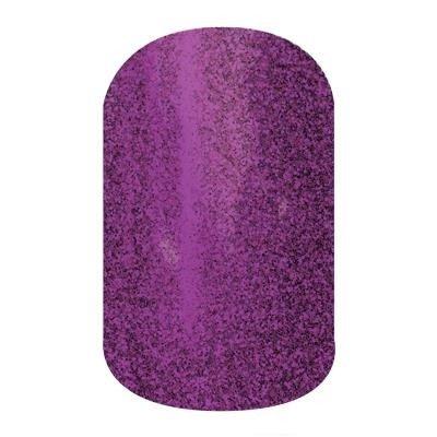 """Jamberry Nails- Half Sheet Nail Wraps- """"Fizzy Grape"""" Sparkle"""