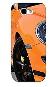 New Fashion Premium Tpu Case Cover For Galaxy Note 2 - Porsche 911 Gt3 Case For New Year's Day's Gift