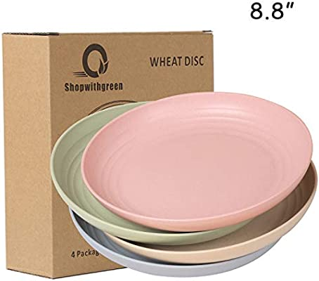 New Hard Plastic Divided Plate with Lid Toddler Pink