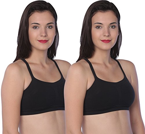Hanes Women's Ultimate Bandini Multi-Way Wirefree (2 Pack), Black /Small (Strapless Bras Hanes)