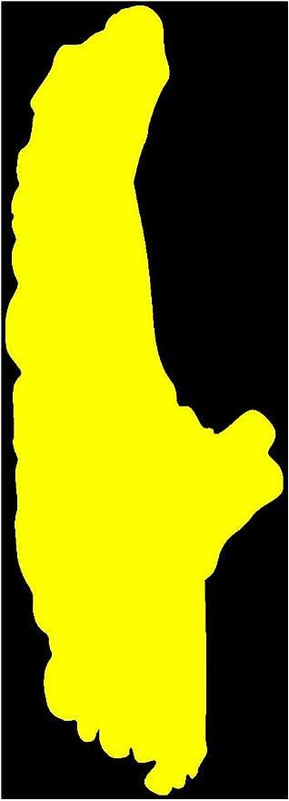 Samunshi Deutschland Aufkleber   25 Farben 8 Größen