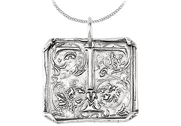 9d15a4d8df36 Image Unavailable. Image not available for. Colour  Vintage Pendant with  Letter T Engraved ...