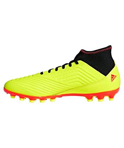 Pour De Noir Adidas 18 3 Fluo Jaune Rouge Ag Predator Chaussures Homme Foot x4USR