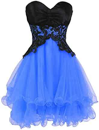 f7847787d7ab Uther Sweetheart Bridesmaid Dress Short Tulle Prom Gown Homecoming Dresses  Juniors