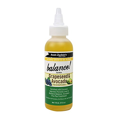 Aunt Jackie's Natural Growth Oil Blends Balance, Balances Po