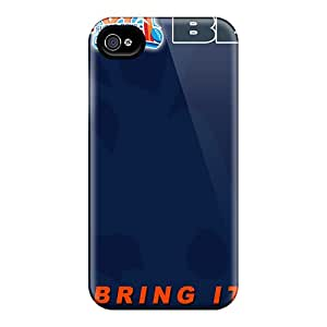 Iphone 4/4s Uiu16938NfUY Customized Nice Chicago Bears Pattern High Quality Hard Phone Cover -AlissaDubois