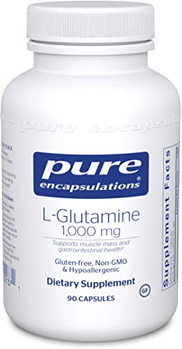 Cheap Pure Encapsulations – l-Glutamine 1000 mg – Hypoallergenic Supplement Supports Muscle Mass and Gastrointestinal Tract* – 90 Capsules
