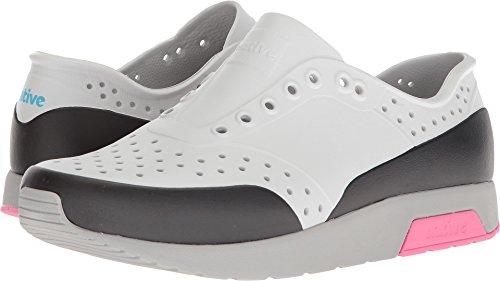 Native Shoes Lennox Water Shoe, Mist Pigeon Grey/Hollywood Pink/Jiffy Block, 8 Men