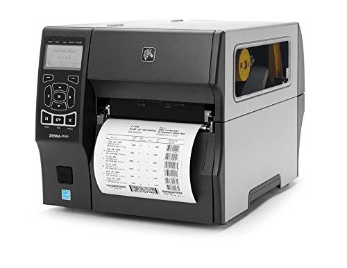 Zebra ZT42063-T010000Z ZT420 Industrial Thermal Transfer Table Top Printer, 300 DPI, Monochrome, With 10/100 Ethernet, Bluetooth 2.1, USB Host