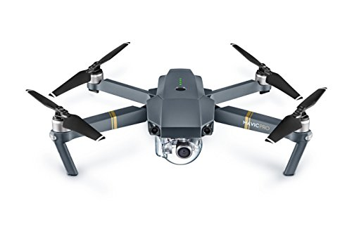DJI – Mavic Pro Quadcopter with Remote Controller – Gray