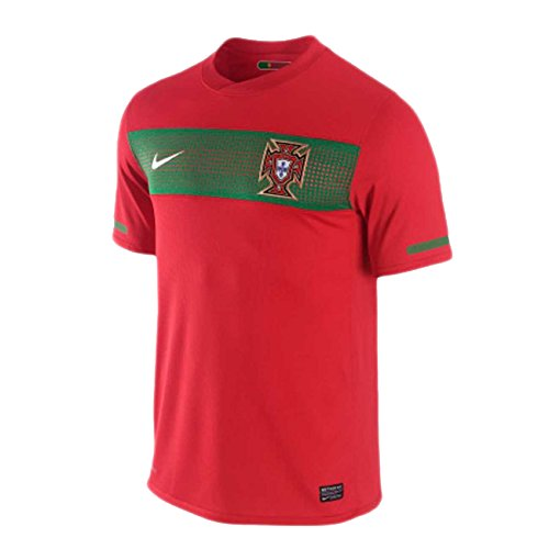 Nike 2010-11 Portugal World Cup Home Football Soccer T-Shirt ()