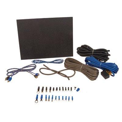 SSV Works 8 Gauge Amplifier Wiring Kit with Mounting Brackets - Fits: Polaris Ranger RZR 4 900 2015-2017