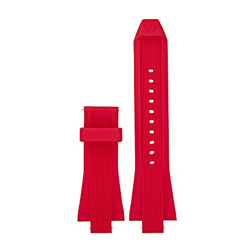 Michael Kors Access Dylan Red Silicone Smartwatch Strap MKT9013