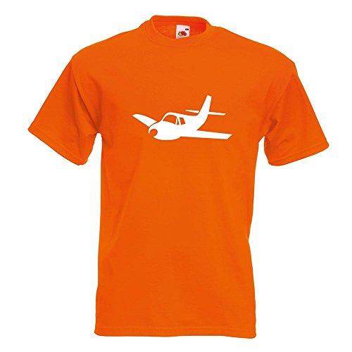 Avion L Couleurs M Planeur Orange Xxl shirt Motif Homme Kiwistar Xl En Imprimé Coton S Différentes Fun T 15 Sda5P