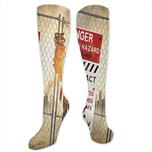 Compression Socks,Dead Man Walking Dark Danger Scary Scene Fiction Halloween Infection Picture]()