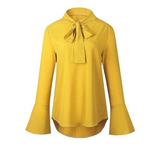 Blusas Chifon Camisetas Ropa de Mujer Camisas Moda Modelo SIL (M, Negro): Amazon.es: Ropa y accesorios