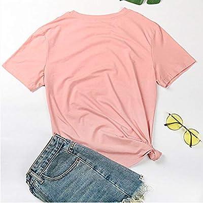 Xinantime Womens Casual Daisy Print Tee O-Neck Short Sleeves T-Shirt Blouses Tops: Clothing
