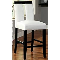 Furniture of America Durant Pub Dining Chair, Set of 2
