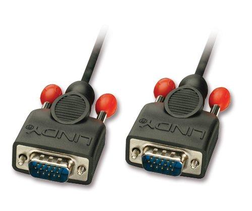 VGA-Anschlusskabel ohne Ferritkerne 15-pol. HD Stecker/Stecker