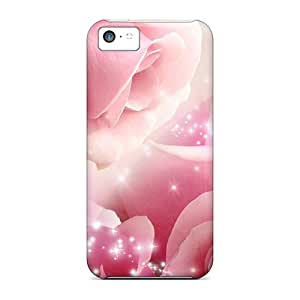 Top Quality Rugged Roses So Pink Cases Covers For Iphone 5c