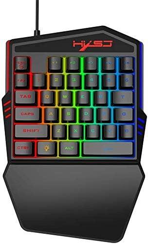 Teclado mecánico para Juegos Tableta de Escritorio LED ...