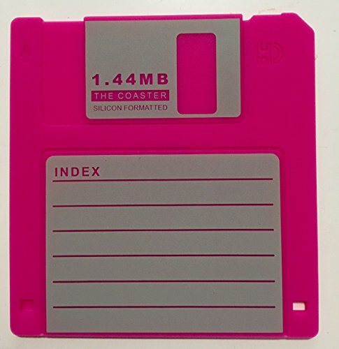 41aLGEVOxxL - Retro Floppy Disk Coasters