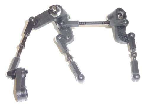 Servo Saver Linkage (HPI Sprint 2 Flux STEERING / LINKAGE / SERVO SAVER / TIE RODS bearing)