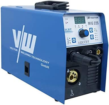 Welder Inverter Multi-function MIG225A Welding Machines 3 in 1 MIG//TIG//ARC Filling Wire with Gas and Gasless