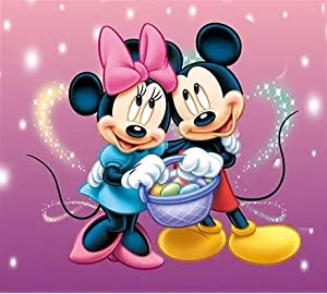 Amazon Com Full Drill Diamond Paintin Cartoon Mickey Mouse By