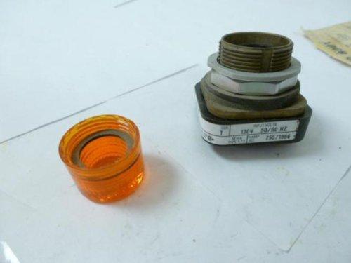 Allen-Bradley 800T-P16 Pilot Light, Amber (800t Socket)