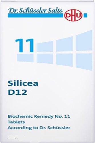 Dhu Dr. Schuessler Salts 11 Silicea D12 Elasticity Firmness Of Hair Nails Skin 200 Tabs
