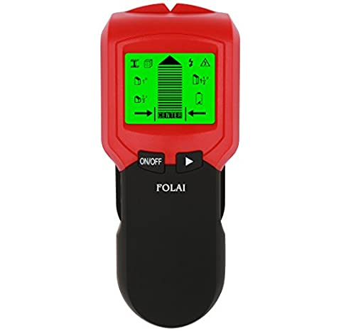 Stud Finder,Center-Finding Stud Metal AC Wire WoodScanner Wall Stud Finder Electronic StudSensor FOLAI