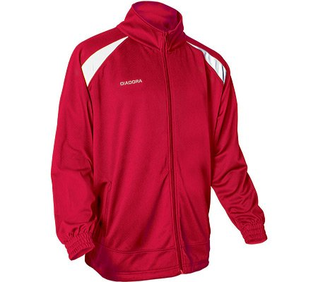 Diadora Men's Gioco Full-Zip Comfort Warm-Up Jacket
