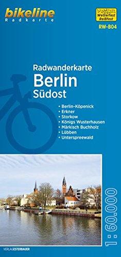 Berlin Südost (RW-B04) Berlin-Köpenick, Erkner, Storkow, Königs Wusterhausen, Märkisch Buchholz, Lübben, Unterspreewald, 1:60.000, wetter- und reißfest, GPS-tauglich mit UTM-Netz
