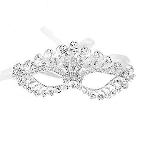 JL 7 Styles Masquerade Mask - The Authentic Luxury Goddess Mask Face Masks for Fancy Dress Masked Ball Halloween -