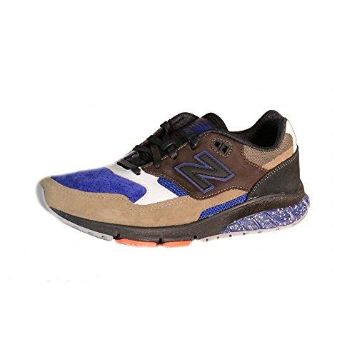 New Balance - New Balance Herren Sportschuhe Mehrfarbig Suede Textil MVL530AE - Blau, 44