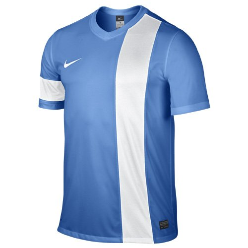 Nike Striker III - Camiseta para hombre Azul claro/Blanco