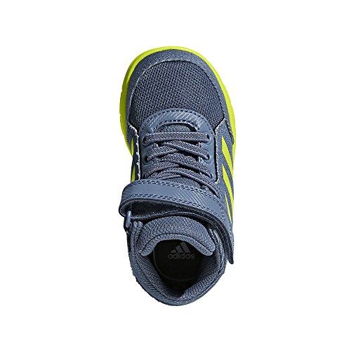 adidas Baby Jungen AltaSport Mid El I Sneaker Blau (Rawste/Sesoye/Ftwwht Rawste/Sesoye/Ftwwht)