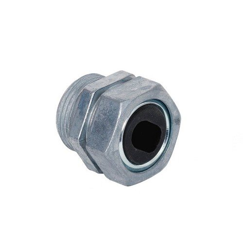 Morris 15375 Water-Tight Service Entrance Connector, Zinc Die Cast, #1 Cable Size, 1-1/4