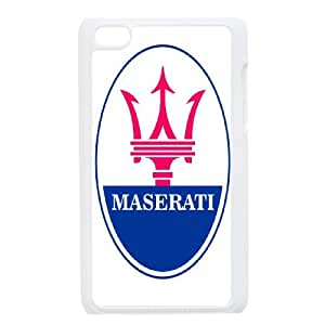 DIY Printed Maserati hard plastic case skin cover For Ipod Touch 4 SN9V293596