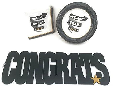 amazon com graduation celebration bundle 3 piece 1 package