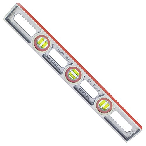 Sands Level & Tool SL1818 Professional Cast Aluminum Level, 18-Inch