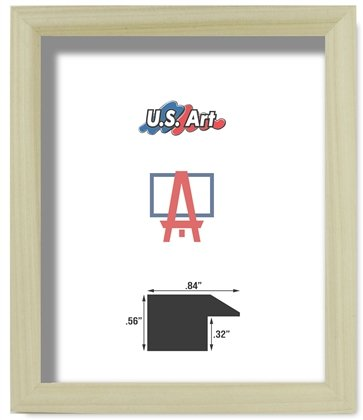 Amazon.com - US Art Frames 12x18 Natural Unfinished .84 inch Picture ...