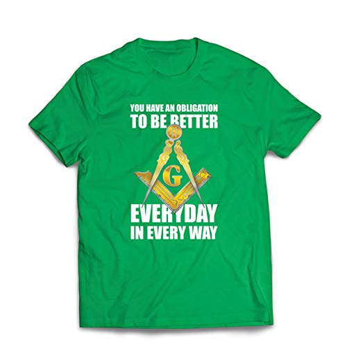 """lepni.me Men's T-Shirt """"The Masonics to be Better Every for sale  Delivered anywhere in Canada"""