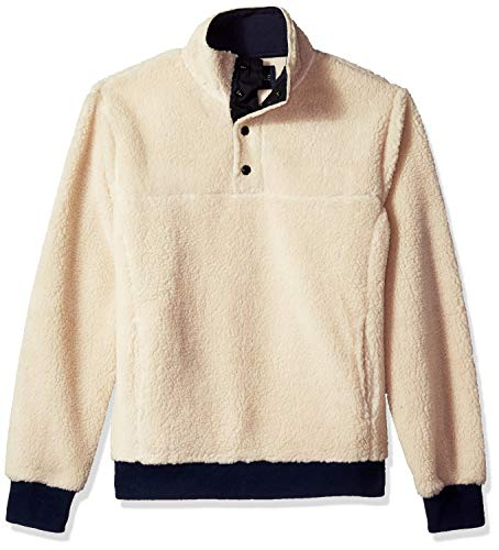 Used, J.Crew Mercantile Men's Sherpa Fleece Mock Neck Pullover, for sale  Delivered anywhere in USA