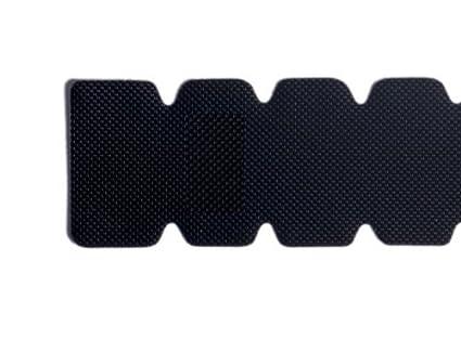Protector Pala de Padel Dentado NEGRO Rugoso resistente