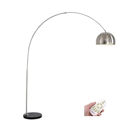 Rcircle Lámparas De Pie Modernas para Lectura De Arco LED ...