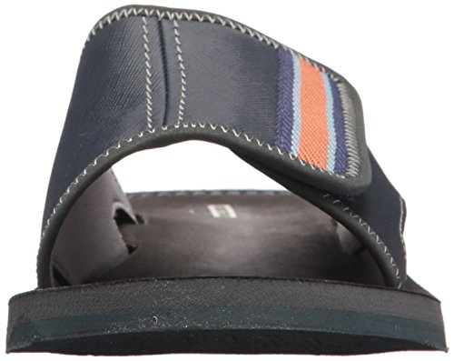 Clarks Mens Lacono Bay Sandalo Scorrevole Blu Combi